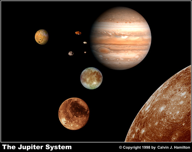 solar system picture all jupiter moon - photo #8